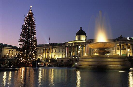 Merry Xmas from London! by Kasia Nowak