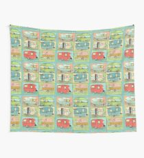 Camping Glamping in Vintage Trailers! Wall Tapestry