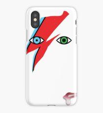 Aladdinsane David Bowie iPhone Case/Skin