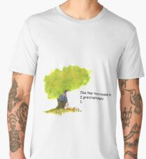 Calvin is a procrastinator Men's Premium T-Shirt