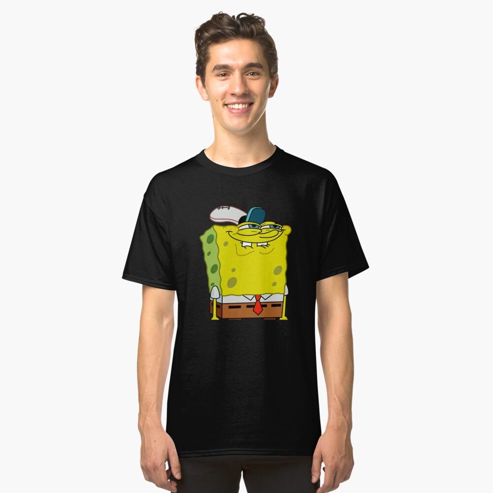 Grinning Spongebob - Funny Spongebob Meme Shirt Classic T-Shirt