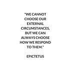 EPICTETUS  Stoic Philosophy Quote by IdeasForArtists
