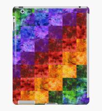 Rainbow Sprectrum Quilt iPad Case/Skin