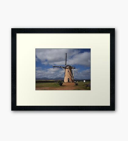 Windmill in the West Framed Print