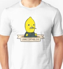 Unacceptable!!! Lemon People - Funny Adventure Time Meme Shirt T-Shirt