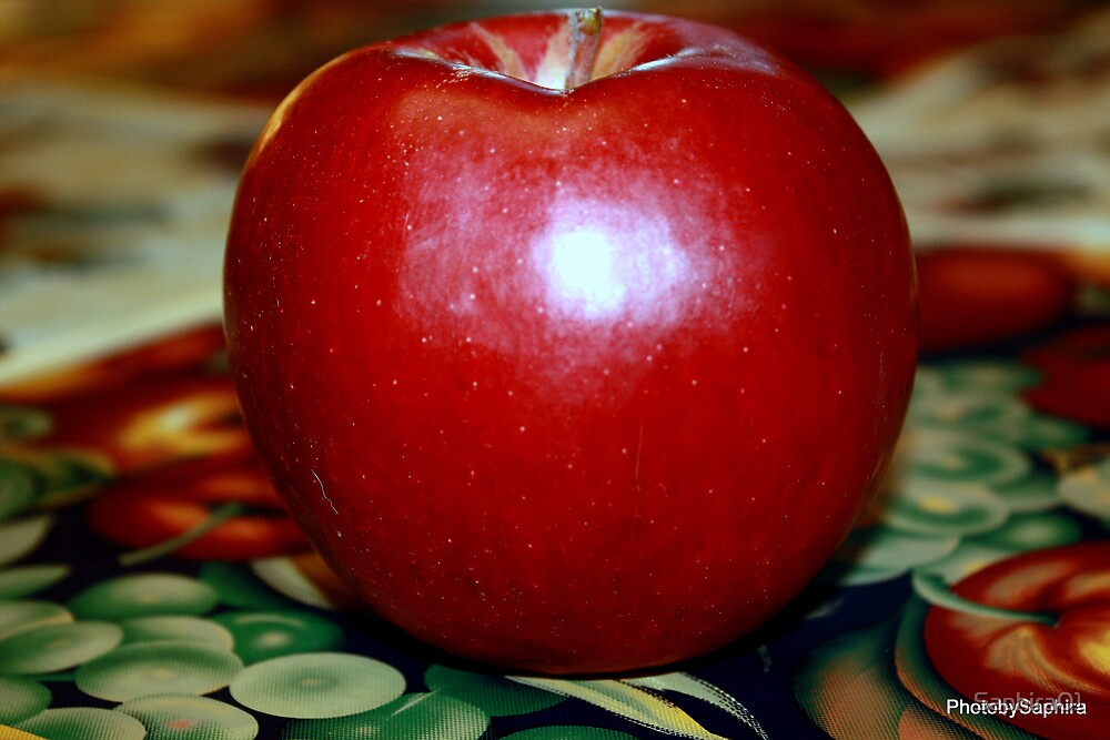An Apple For Teacher by Saphira01