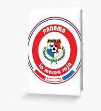 Football - Team Panama Greeting Card