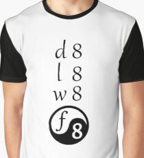 Date, Late, Wait, Fate Graphic T-Shirt