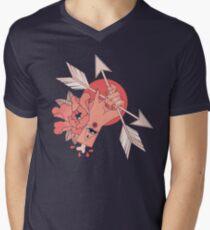 An Arrow in the Hand Men's V-Neck T-Shirt