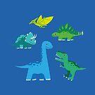 Dinosaurs by Marjolein Schattevoet