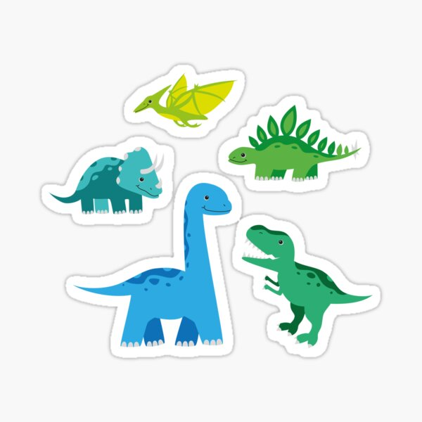 Dinosaurs Sticker