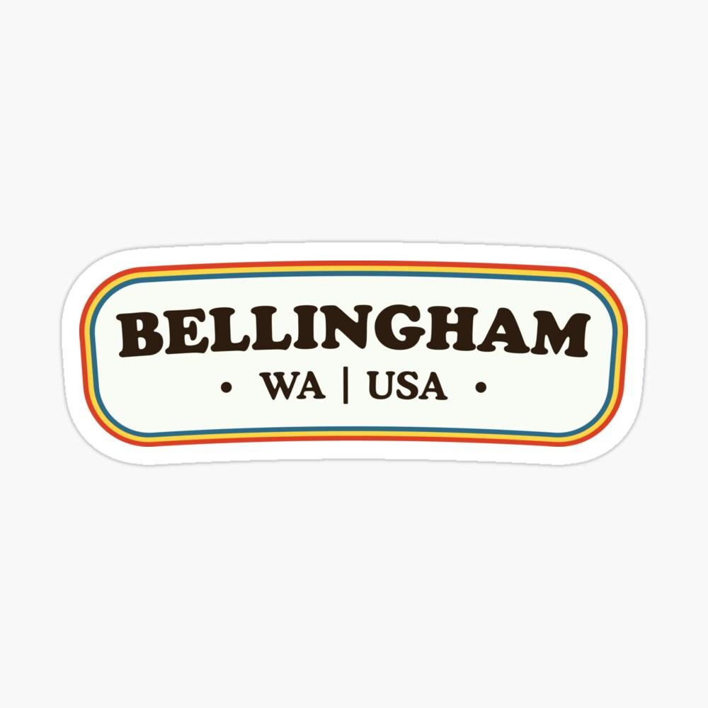 Bellingham | Retro Badge Sticker