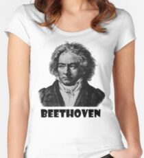 Beethoven  Women's Fitted Scoop T-Shirt