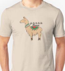 Fa La La La Llama Unisex T-Shirt