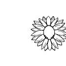 hand-drawn flower by designing31