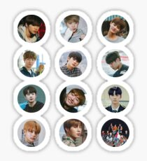 Wanna One - Beautiful 12 stickers  Sticker
