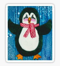 Mr. Pennington Penguin Sticker