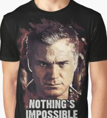 Nothing`s Impossible - Captain Tom Chandler Graphic T-Shirt