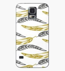 feathers, leaves, graphics Case/Skin for Samsung Galaxy