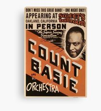 Count Basie Canvas Print