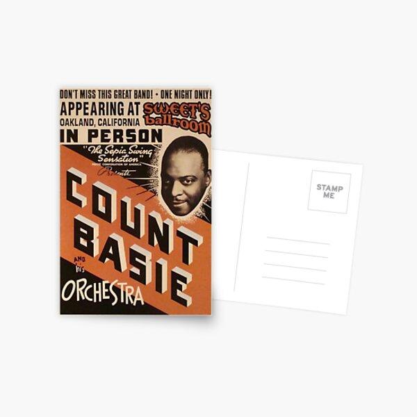 Count Basie Postcard