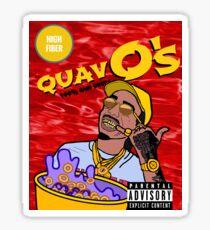 QuavO's Cereal (RED) Sticker
