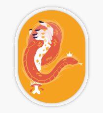 Handy Dandy Snake Transparent Sticker