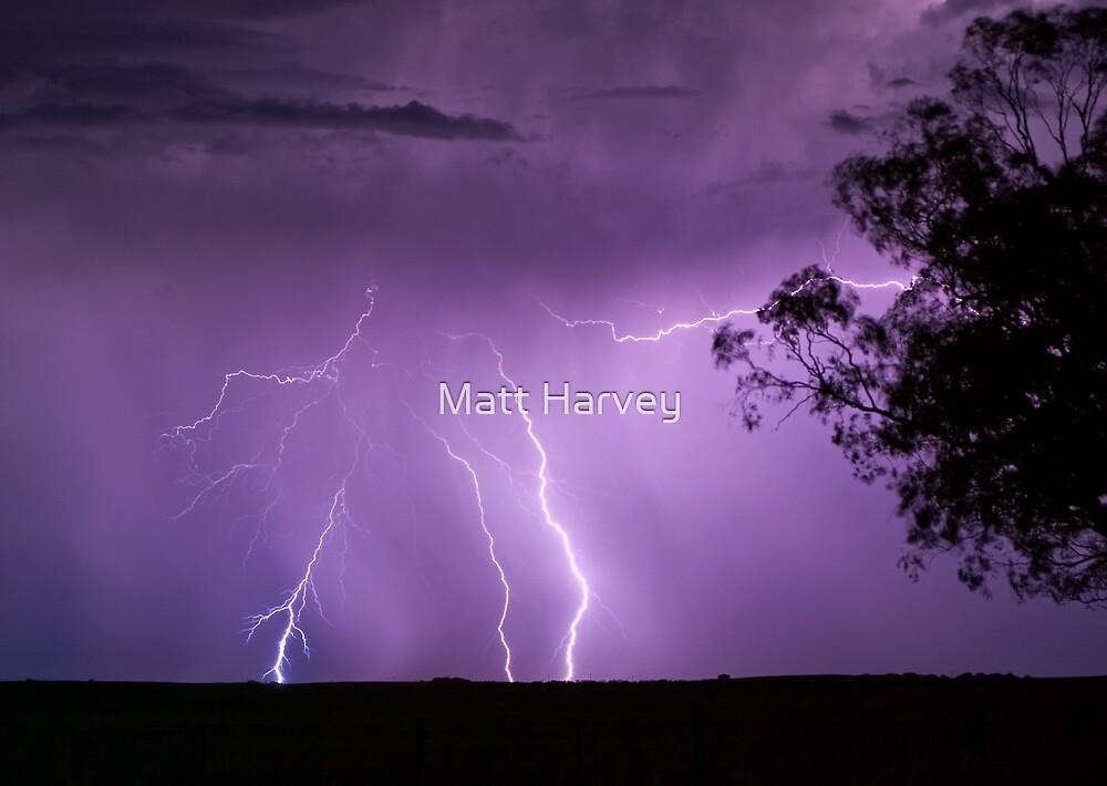 Behind the Storm by Matt Harvey