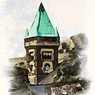 Abergavenny Town Hall by David Hayes