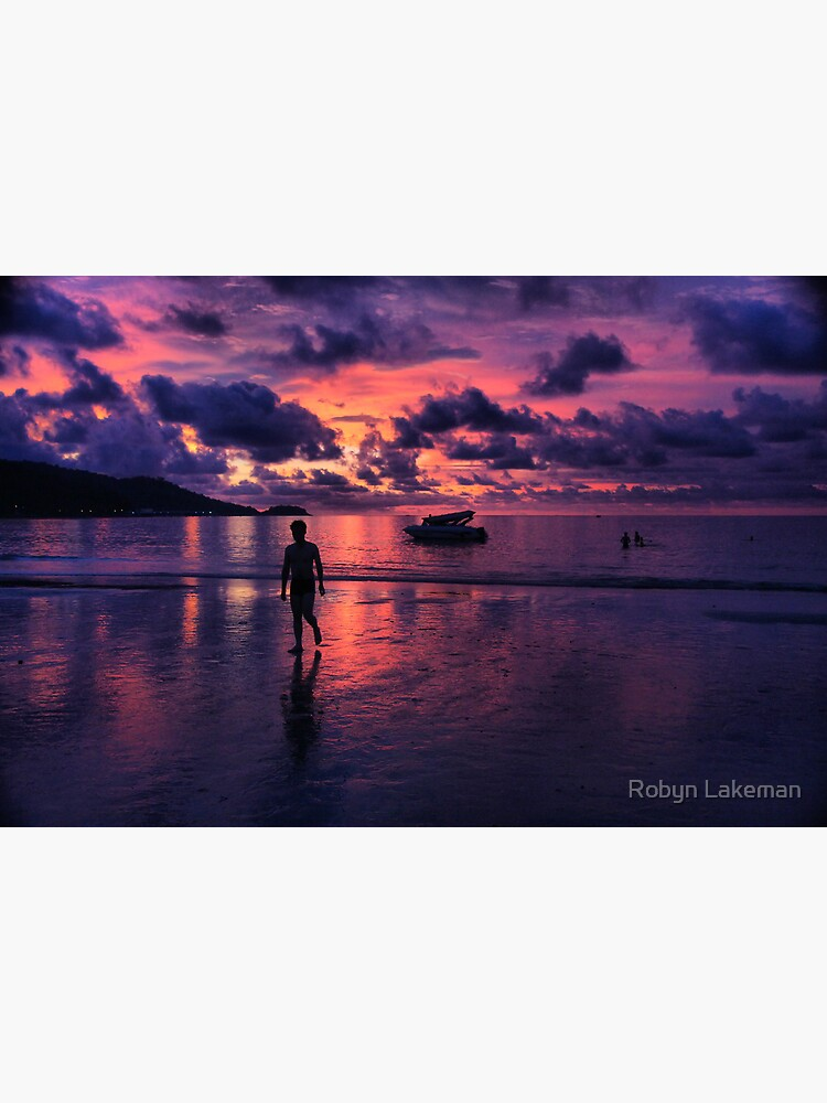 Patong beach sunset by Rivergirl