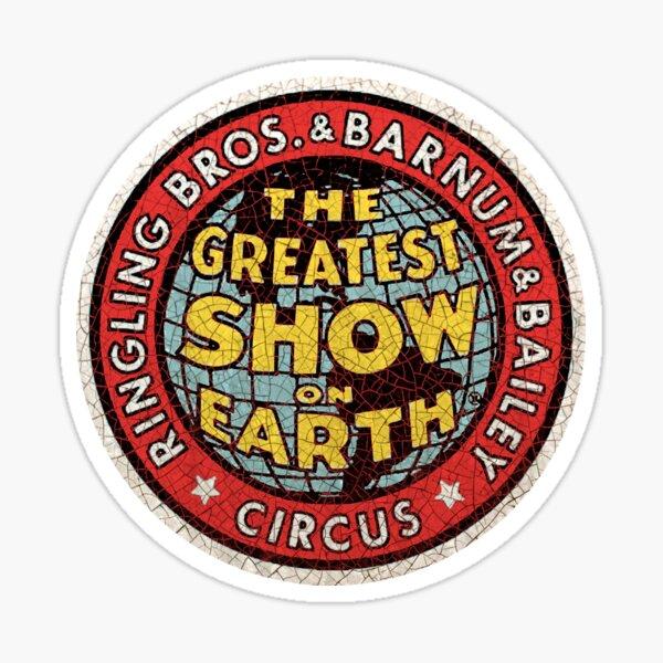 American vintage  Circus Sticker