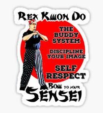 Rex Kwon Do Sticker