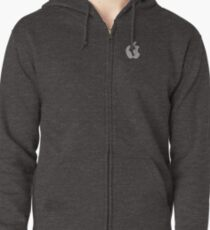Apple Zipped Hoodie