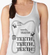 TEETH TEETH TEETH - full tweet version Women's Tank Top