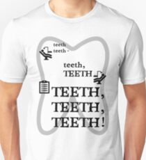 TEETH TEETH TEETH - full tweet version Unisex T-Shirt