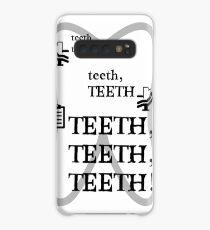 TEETH TEETH TEETH - full tweet version Case/Skin for Samsung Galaxy