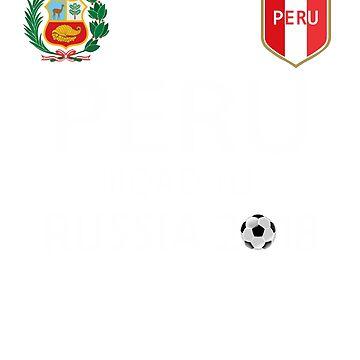 Peru T-shirt Peru Russia Soccer by HallelujahTees