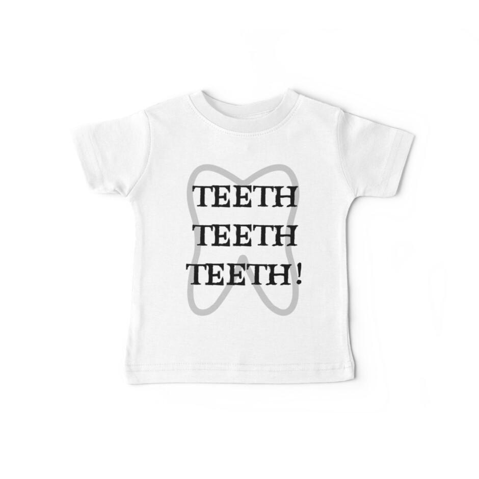 TEETH TEETH TEETH by extortion-com