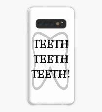 TEETH TEETH TEETH Case/Skin for Samsung Galaxy