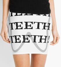 TEETH TEETH TEETH Mini Skirt