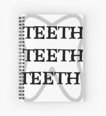 TEETH TEETH TEETH Spiral Notebook