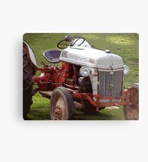 This Old Ford Metal Print