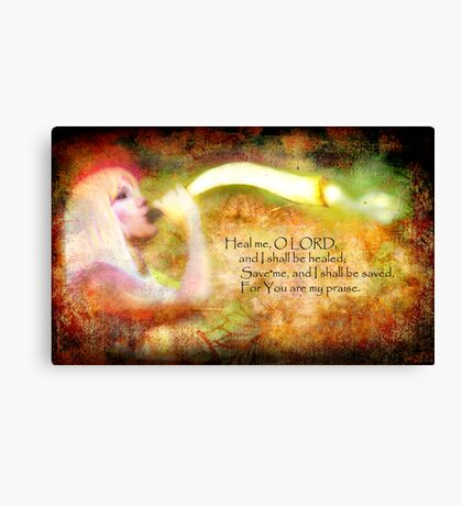 The Sound of Deliverance Canvas Print