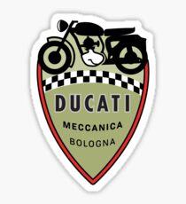 Vintage Italian Motorcycle Sticker