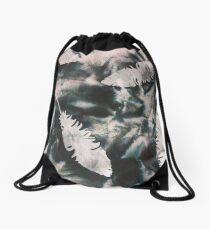 Dyed & Thermofax Art Work Drawstring Bag