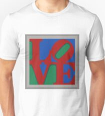Knitted love Poster Unisex T-Shirt
