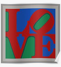 Knitted love Poster Poster
