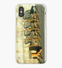 Table and Chairs  iPhone Case/Skin