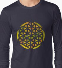 GREEN LIFE FLOWER Long Sleeve T-Shirt