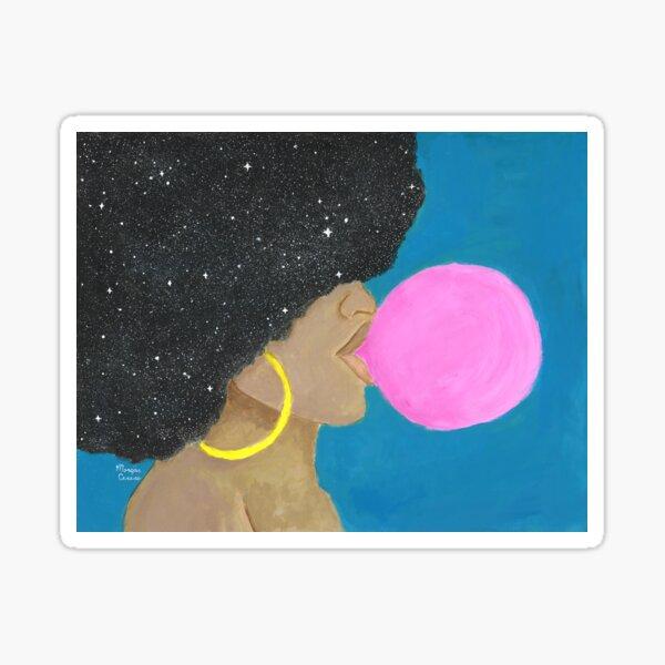 Afro Pop Sticker